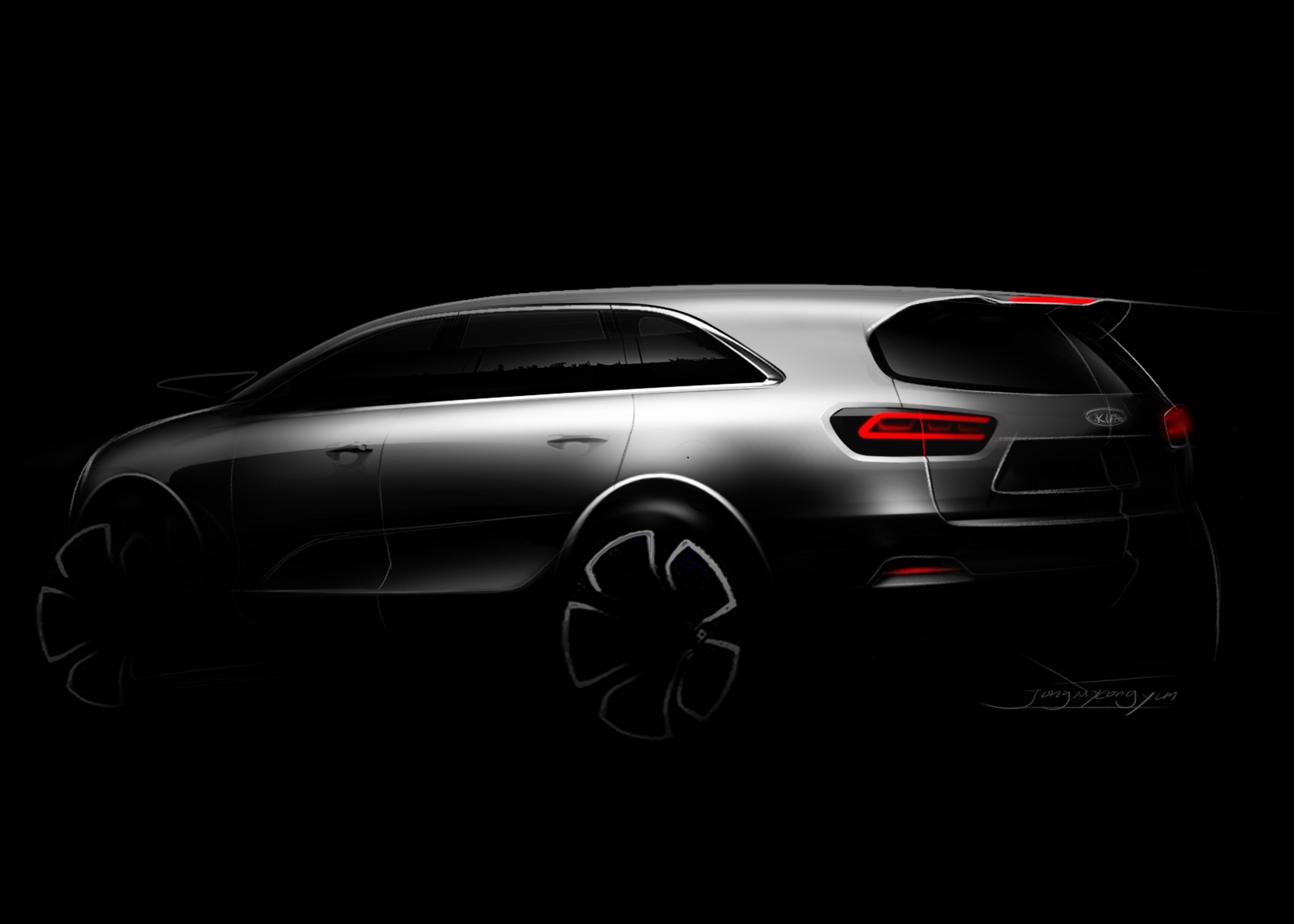 Kia Stinger Gt >> Neuer Kia Sorento mit kraftvoll-elegantem Design - Kia Press Schweiz